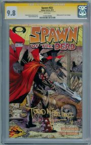 Spawn #223 CGC 9.8 Signature Series Signed Todd McFarlane Walking Dead Image Comic Book